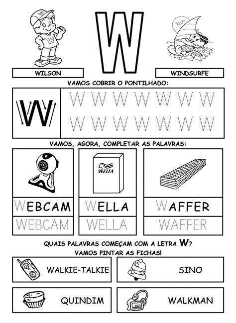 imagenes que empiecen con la letra w en español palabras con w para ni 241 os de kinder educanimando