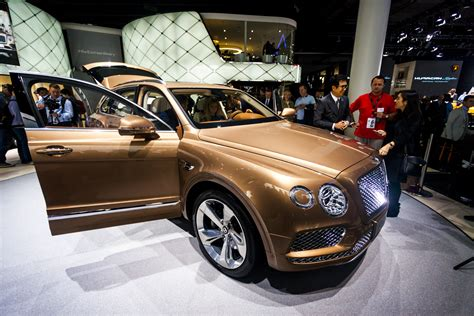 bentley bentayga 2015 iaa 2015 bentley bentayga