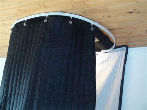 how to record a curtain track vocal booth on tracks 7 ft ceiling track kit portable