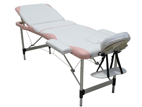 lightweight beauty couch massage table 3 section lightweight portable folding