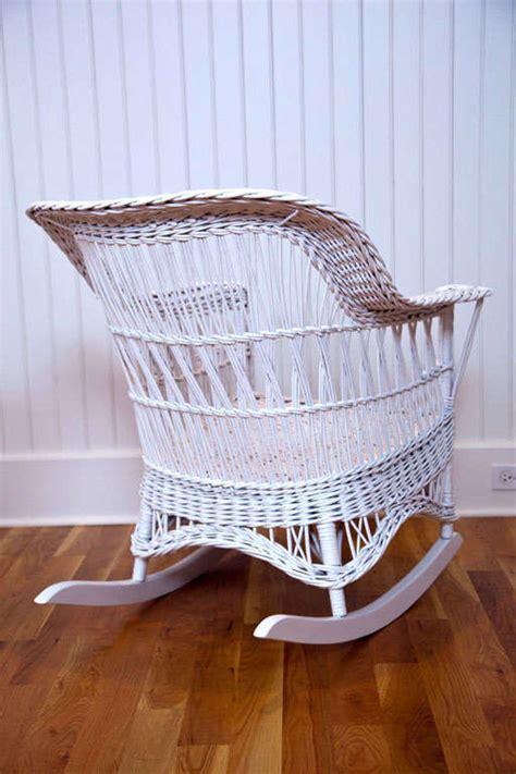 Antique Wicker Chair by Antique Wicker Chair And Rocker At 1stdibs