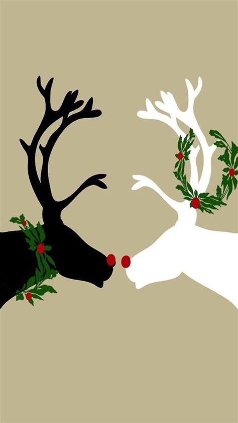 wallpaper christmas reindeer iphone wallpaper christmas tjn iphone walls christmas