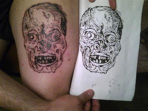 tattoo zombie new school zombie tattoo