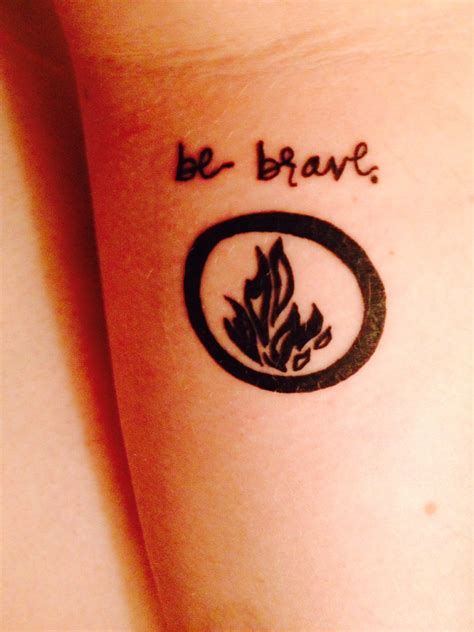 divergent dauntless mini tattoos pinterest