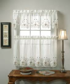 White Kitchen Curtains Different Curtain Design Patterns Home Designing