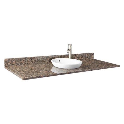 61 vanity top single 61 quot x 22 quot granite vanity top for rectangular single