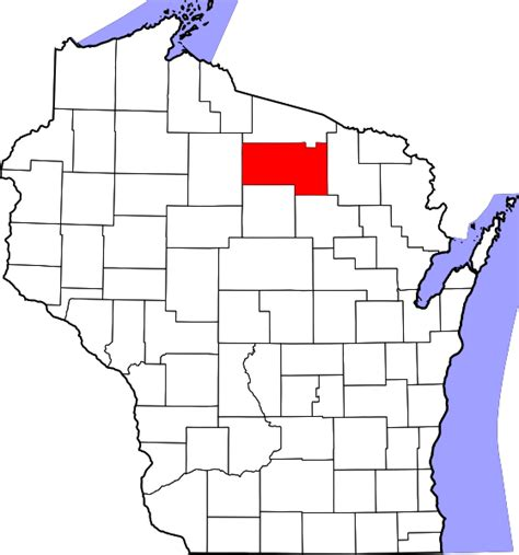 Oneida County Ny Property Records File Map Of Wisconsin Highlighting Oneida County Svg Facts