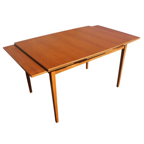 Extension Dining Room Table | 79 quot vintage danish teak extension dining table ebay