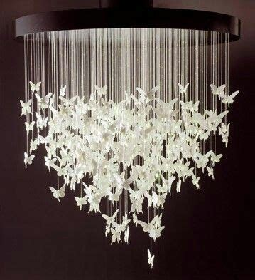 How To Make A Paper Butterfly Chandelier - paper cranes paper butterflies and chandeliers on