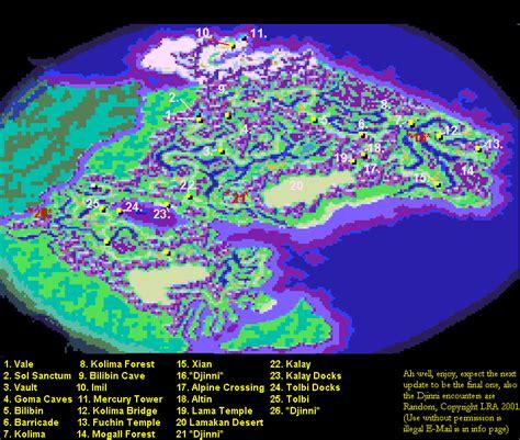 golden sun world map theme golden sun gba information