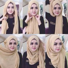 tutorial hijab pasmina volume pashmina hijab tutorial on pinterest hijab tutorial