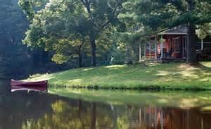 Casual casa lakeside cabins and a mediterranean patio