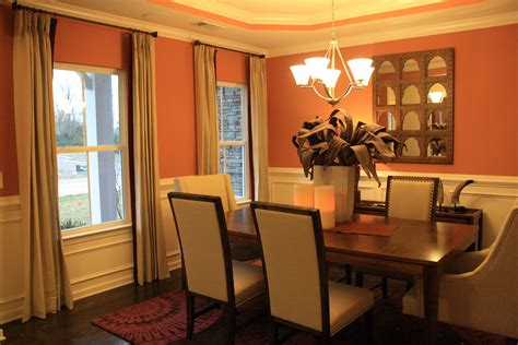 orange dining room cream spice and plum redone www design zeal com