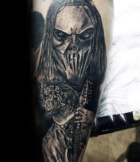 slipknot tattoo designs 50 slipknot tattoos for heavy metal band design ideas