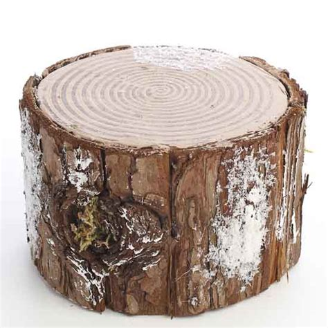 Decorative Tree Stumps For Sale by Decorative Artificial Winter Tree Stump Table Decor And Winter Crafts