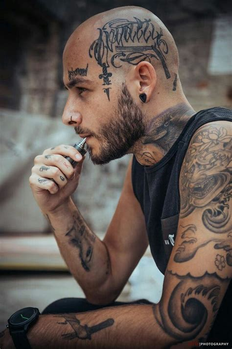 pin  jatin arya  tattoo art head tattoos face