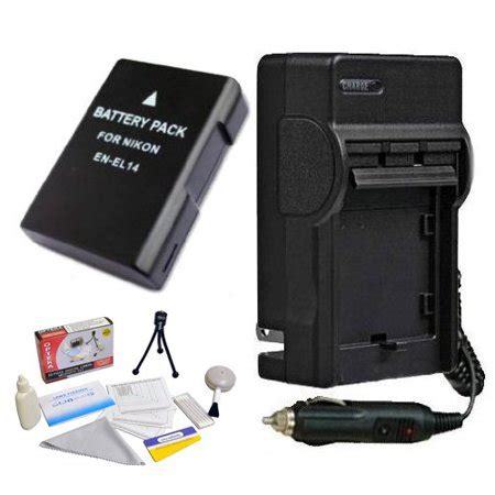 enel14 1800mah rechargable battery and charger kit for
