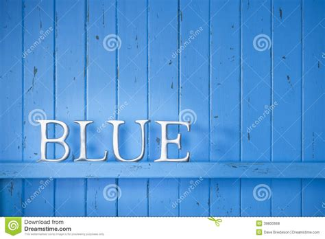 blue color word background stock photo image 39800668