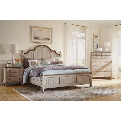 Wynwood King Bedroom Set by Flexsteel Wynwood Collection Plymouth Cal King Bedroom