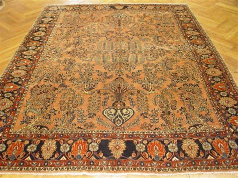 9x11 rugs 9x11 antique rug rich popular sarouk carpet ebay