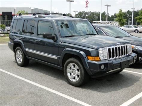 Jeep Commander Specs by 2007 Jeep Commander Limited Data Info And Specs