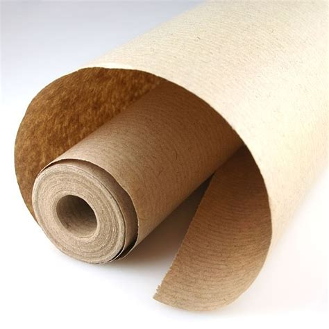 Brown Craft Paper Rolls - brown ribbed kraft wrapping paper 8 metre roll pipii