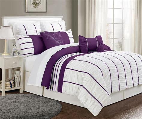 purple and black bedding sets purple and white comforter sets car interior design