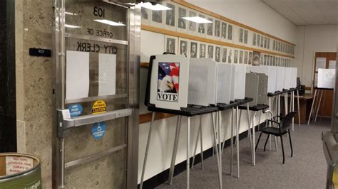 City Clerks Office by Absentee Voting In The City Clerk S Office City Of