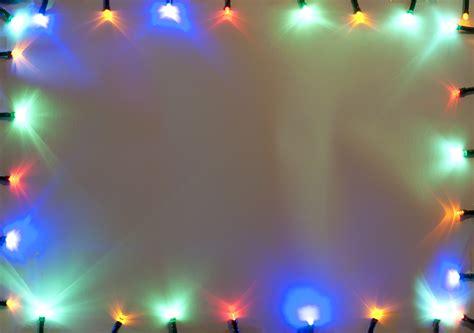Border Of Bright Shining Christmas Lights 9363 Stockarch Border Lights