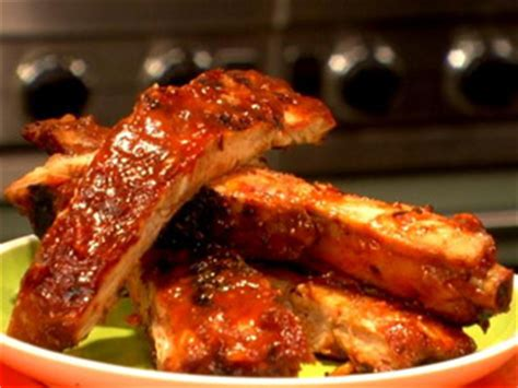 slow cooked ribs with bacon barbecue sauce | l and l