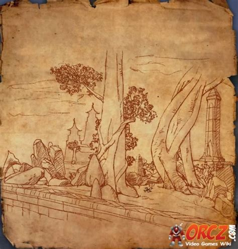 deshaan treasure map eso deshaan treasure map ii orcz the wiki