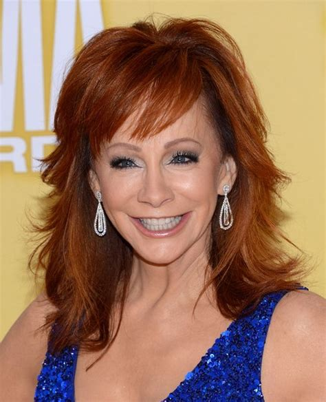 medium shaggy hairstyles for women 2013 reba mcentire trendy shaggy medium hairstyles for
