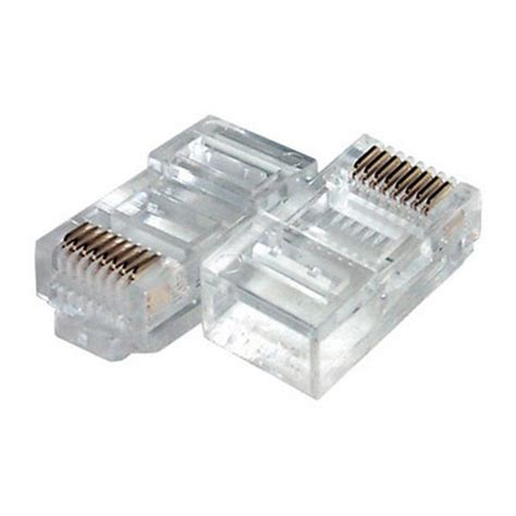 Konektor Rj45 100 cat5 rj45 rj 45 modular network connector ebay