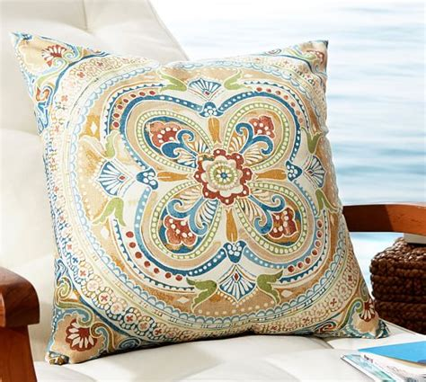 Pottery Barn Outdoor Pillow by Verano Medallion Indoor Outdoor Pillow Pottery Barn