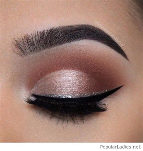 Eyeshadow And Eyeliner 25 best ideas about silver eye makeup on