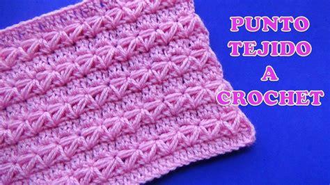 puntos de crochet estrella punto a crochet para prendas de invierno aplicando el