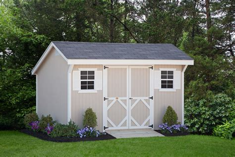 backyard shed kits diy storage shed panelized walls makes for an easy weekend project wood saltbox storage shed