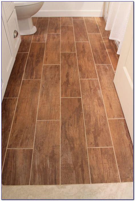 Ceramic Tile Vs Hardwood Flooring Kitchen by Wood Grain Porcelain Tile Vs Laminate Tiles Home