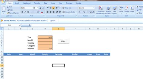 advanced filter excel template amanah fitri