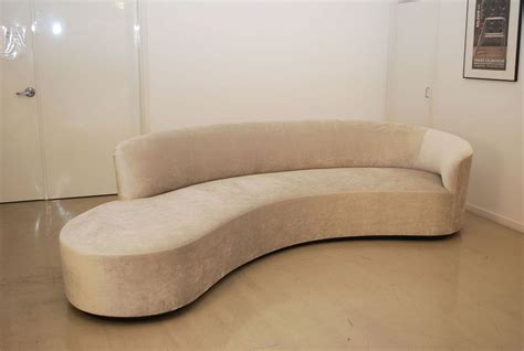 curved contemporary sofa 12 ideas of contemporary curved sofas