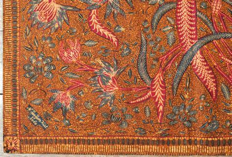 Hem Batik Tulis Pekalongan 5 javanese batik breastcloth made in 3 states kemben batik tiga negeri origin java
