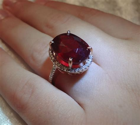 14 82 Ct Blood Ruby estate 14 18 ct top blood ruby solid 14k