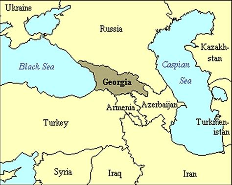 where is tbilisi on world map maps