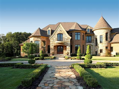 french country estate french country estate traditional exterior detroit