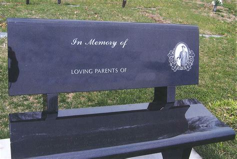 bench headstones wyuka funeral home cemetery 187 benches markers