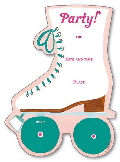 Skating Birthday Card Template by 17 Best Images About Roller Skating On Goody