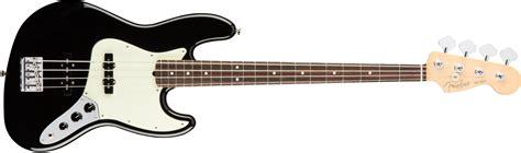 Bass Black fender american pro jazz bass 174 rosewood fingerboard black