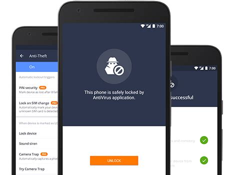 avg mobile anti theft avg free antivirus for android tablet mobile security app