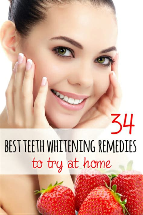 34 best teeth whitening home remedies to try at home
