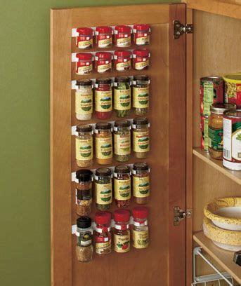 spice holder for cabinet spice storage rack holder organizer clip set kitchen